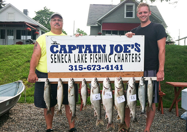 Captain Joes Finger Lake Fishing Charters