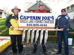 Seneca Lake Fishing